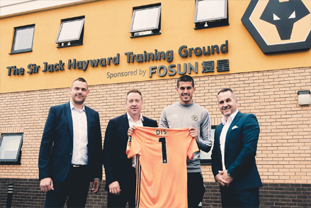 DIS Enter Partnership with Wolves